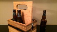 This DIY Wooden Beer