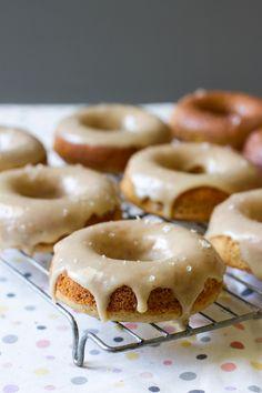 Maple Sea Salt Doughnuts