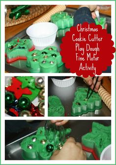 Cookie Cutter Playdough Fine Motor Activity | Little Bins for Little Hands