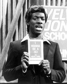 "Saturday Night Live: Eddie Murphy as Velvet Jones #SNL  ...and the ever popular book  ""I was kicked in the butt by love"" by Velvet Jones"
