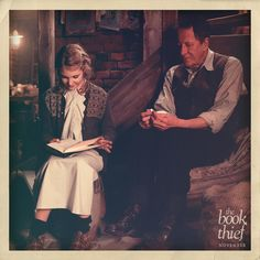 Hans and Liesel.  -- The Book Thief