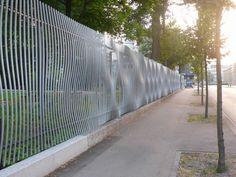 steel fence, fun fenc