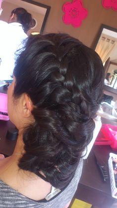 peinado de boda vintage