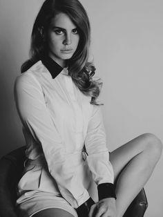 Lana Del Rey... I'm a sad girl, I'm a bad girl...