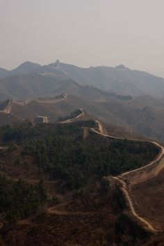 Great Wall of China - one of the 7 Wonders of the World