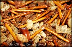 the BEST chex mix recipe