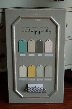 Love these paint colors.