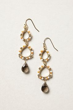 Beaded Zaha Hoops