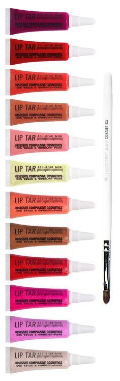 mini kit, mini lip, makeup wishlist, lip tar occ, lips, beauti wishlist, tar kit, holidays, minis