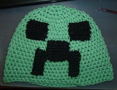 Minecraft hat pattern