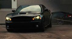 Matte Black Dodge Charger