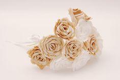 Flores com filtro de café - Portal de Artesanato -