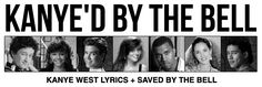 A Kanye West / Saved By The Bell Mashup Site