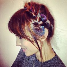 alexa-Chung IN LOVE WITH HER HAIR!!!