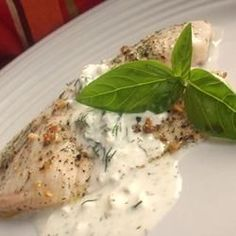 creamy citrus dill tilapia. The recipe is not very clear, but I did it anyway. It was really citrusy, but good! I am going to make this tomorrow!