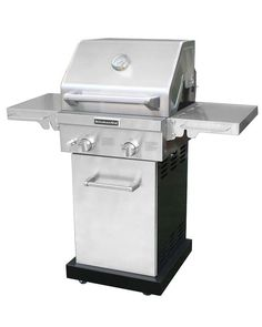 This beauty is compact in size, but big on grilling power. It's made for small spaces, but without compromising on features-- electronic igniter, temperature gauge, no-stick grilling surface, and more.