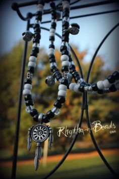 Natural horsemanship rhythm bead necklaces for horses.  www.facebook.com/rhythmbeads www.rhythm-n-beads.com