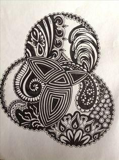 My Zentangle Doodle