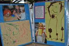 Images of portfolios from Positively Preschool