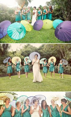 peacock colors for weddings | Peacock Wedding Ideas — Wedding Ideas, Wedding Trends, and Wedding ...