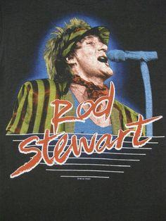Rod Stewart 83 Tour