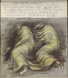 Shelter Sketch Book (1945) Henry Moore