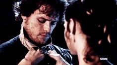 Which is even better as this gif. | 20 Verra Verra Braw Reasons Why Sam Heughan Is The Perfect Jamie Fraser Sam Heughan, Clair, Outland Seri, Trailers, Book, Diana Gabaldon, Outland Trailer, Outland Obsess, Jami Fraser