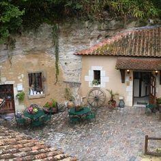French Troglodyte Homes