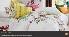 Find Kas Australian-designed bed linens at www.achica.com