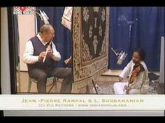 Jean -Pierre Rampal and L. Subramaniam