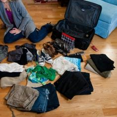 How to pack 10 days worth of clothes into a carry on.