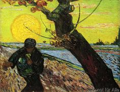 Vincent van Gogh - Le Semeur
