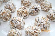 Ratluk bombice sa kokosom http://www.receptizakolace.rs/kolaci-recepti/posni-kolaci-recepti/164-ratluk-bombice-sa-kokosom