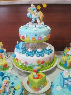 Baby Shower Cake  What SKILL this took !!