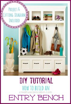 DIY: How to Build an Entry Bench