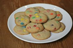 Reds Ultimate M&M Cookies. Excellent recipe! (I omit the nuts)