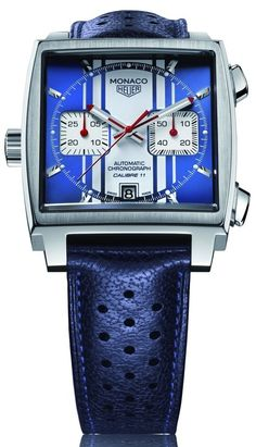 "TAG Heuer Chronograph ""Monaco Steve McQueen Calibre 11""."