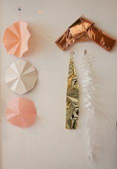 pinks and bronze