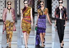 Dries Van Noten. Batik & Ikat