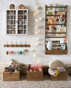 Cute kids room storage