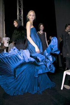 Cobalt Blue Glamorous Chic Life
