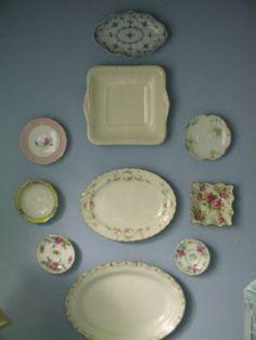 Poppytalk: decorating with dishes