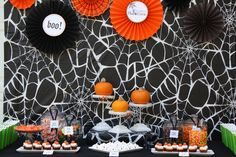 Image detail for -... : {Featured Clients} Halloween Pumpkin Carving Party by Swank Sweets