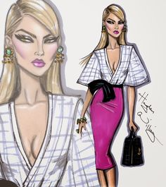 #Hayden Williams Fashion Illustrations #'Picture Perfect Beautiful' by Hayden Williams