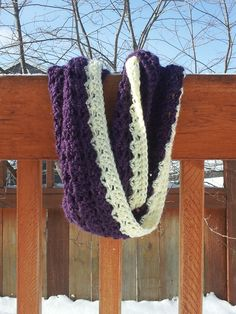 Click Clack Clunk: Kind of Lacy Infinity Scarf (Pattern)