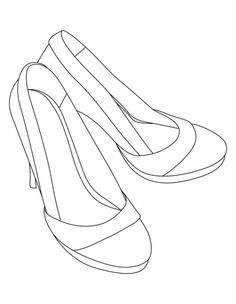 High heel sandals coloring pages | Download Free High heel sandals coloring pages for kids | Best Coloring Pages lydia 2nd, draw 14, sandal color, lena boo, 2nd birthday, accessori color