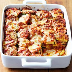 Zucchini Parmesan #myplate #casserole #italian #veggies #dinner