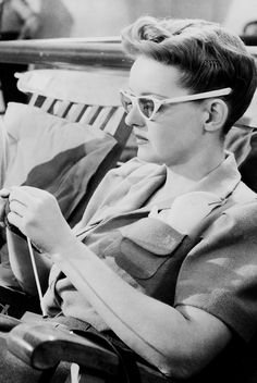 Bette Davis in Now, Voyager (1942).