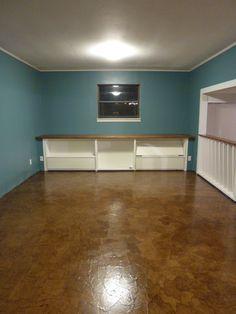 Paper Bag Floor (natural, no stain) {6826 Freeman Ridge}
