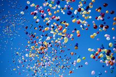 Photography Inspiration – Capturing Balloons in The Sky